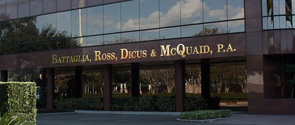 St Petersburg Criminal Defense Attorney Sean McQuaid Office