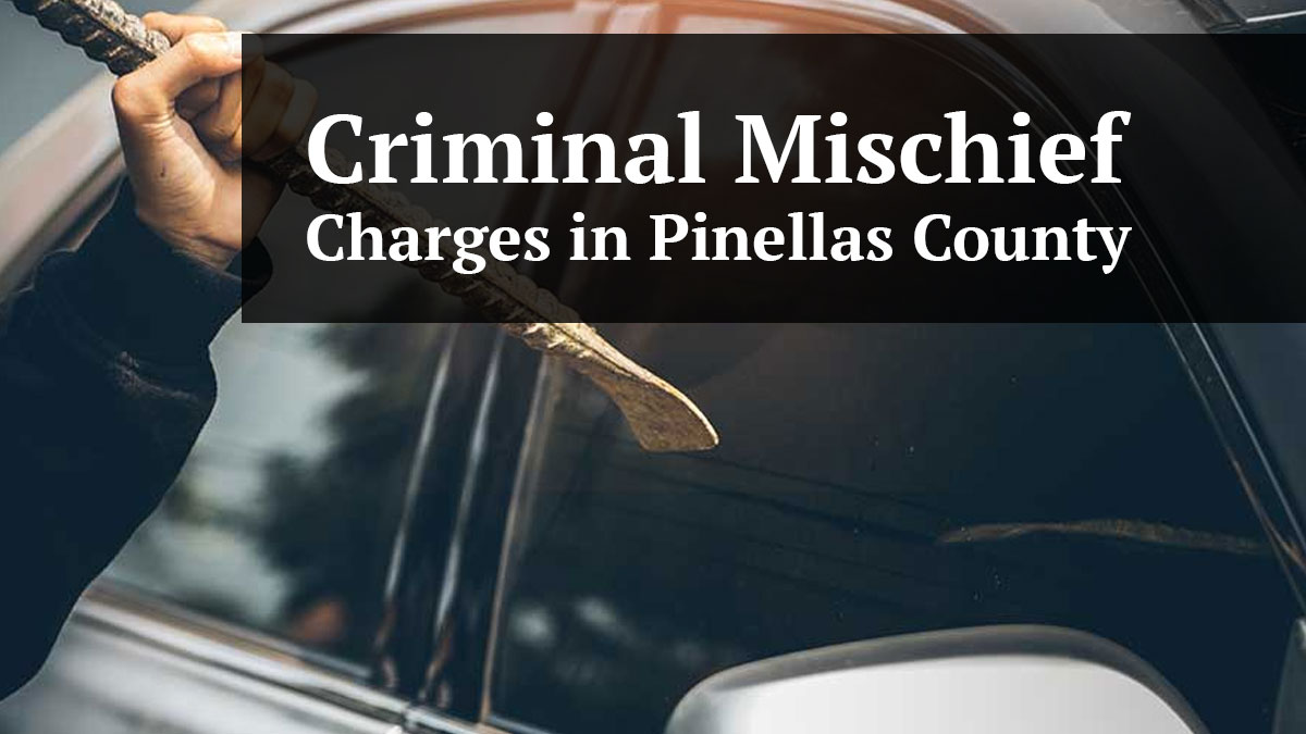 Pinellas County Criminal Mischief Charges