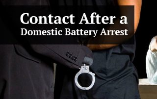 Contact After a Domestic Battery Arrest in Pinellas County
