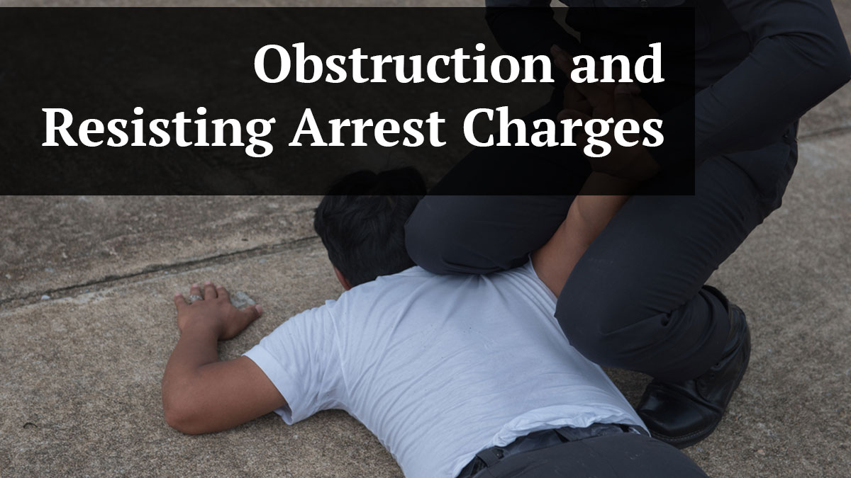 Guide to Pinellas County Obstruction and Resisting Arrest Charges