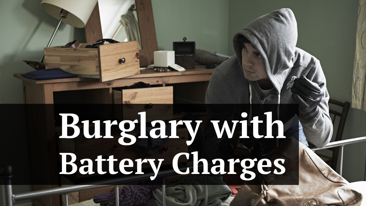 Burglary with battery charges or burg/batt are some of the most overcharged and misused charges used by law enforcement in Pinellas County