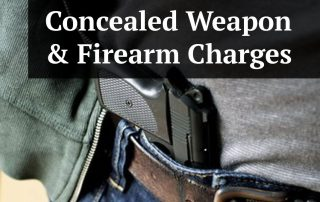 Guide to Pinellas County Carrying Concealed Weapon/Firearm Charges
