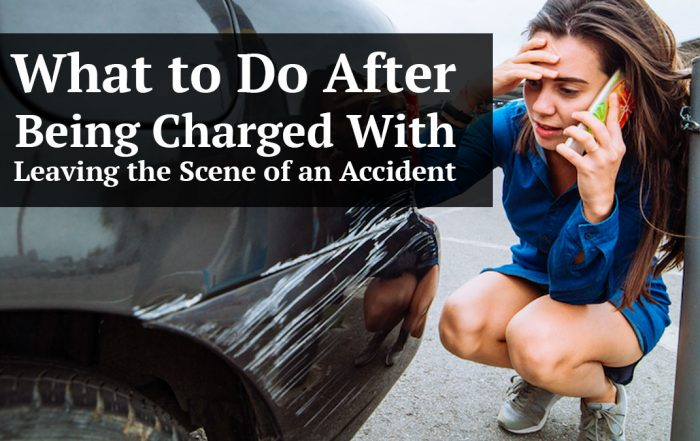 What to Do After Being Charged With Leaving the Scene of an Accident