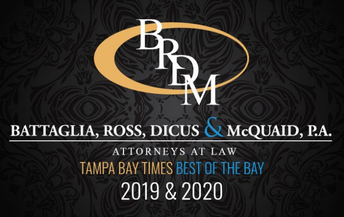 Best Attorney/Law Firm ~Tampa Bay Times Best of the Best