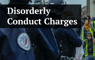 Disorderly Conduct Charges in St. Petersburg