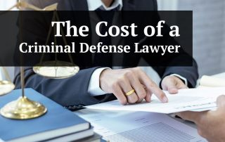 How Much Does a Criminal Defense Lawyer Charge
