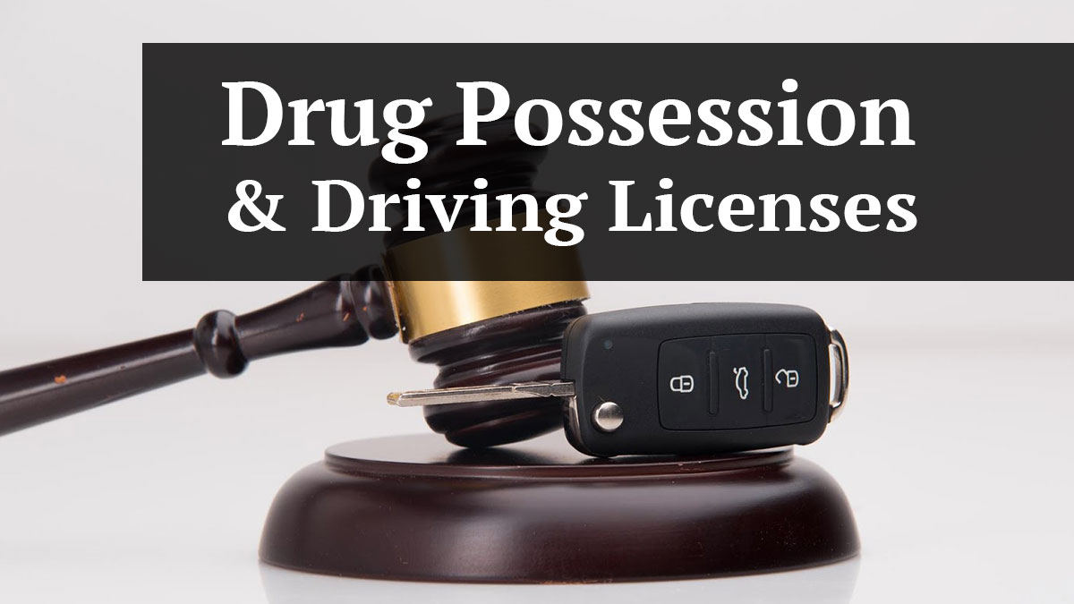 Florida Drug Possession And Your Driver's License