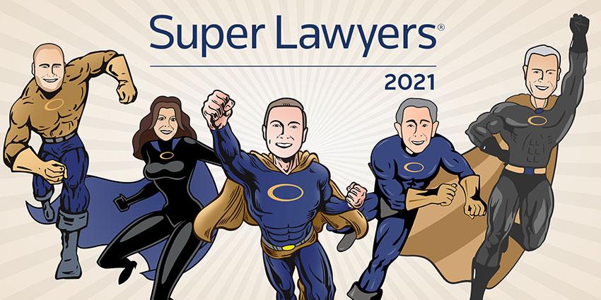 5 Attorneys at Battaglia, Ross, Dicus & McQuaid Receive Super Lawyers Designations